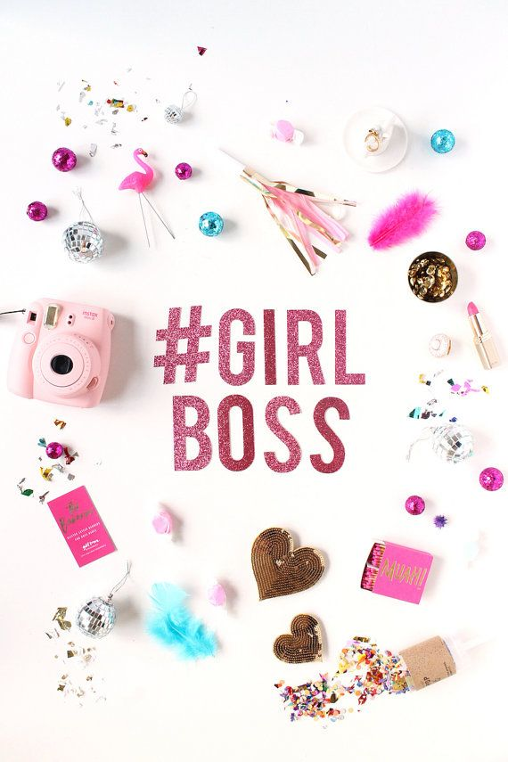 Girlboss Glitter Banner By Thebannerie On Etsy Inspirational Phone Wallpaper Girl Boss Wallpaper Wallpaper Quotes