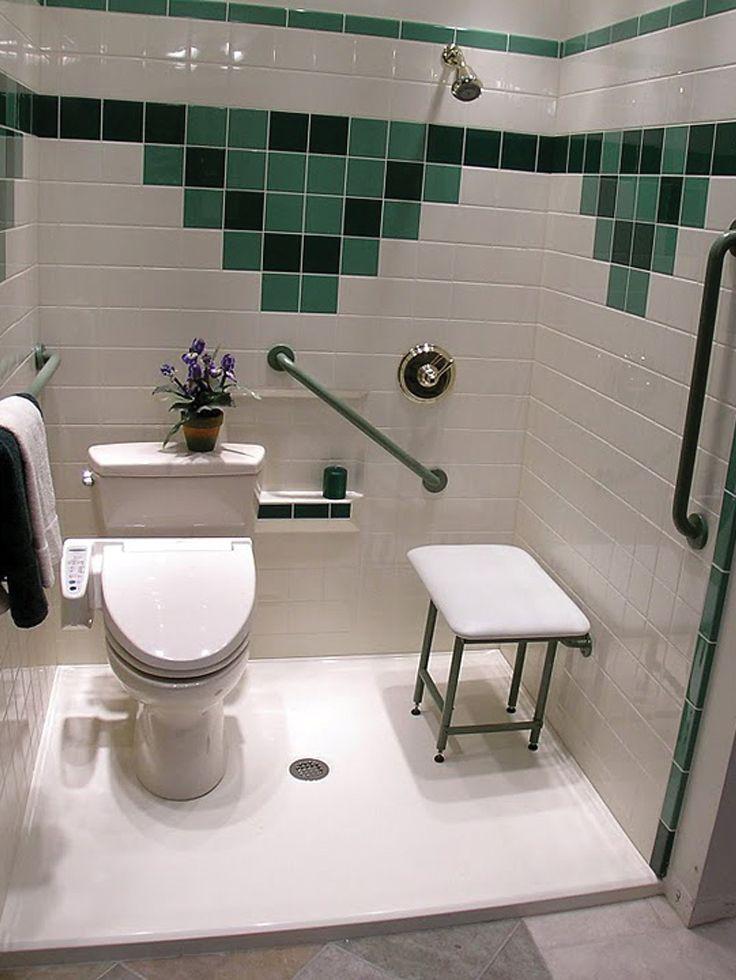 Handicap Showers | Handicap bathrooms | Pinterest | Handicap ...
