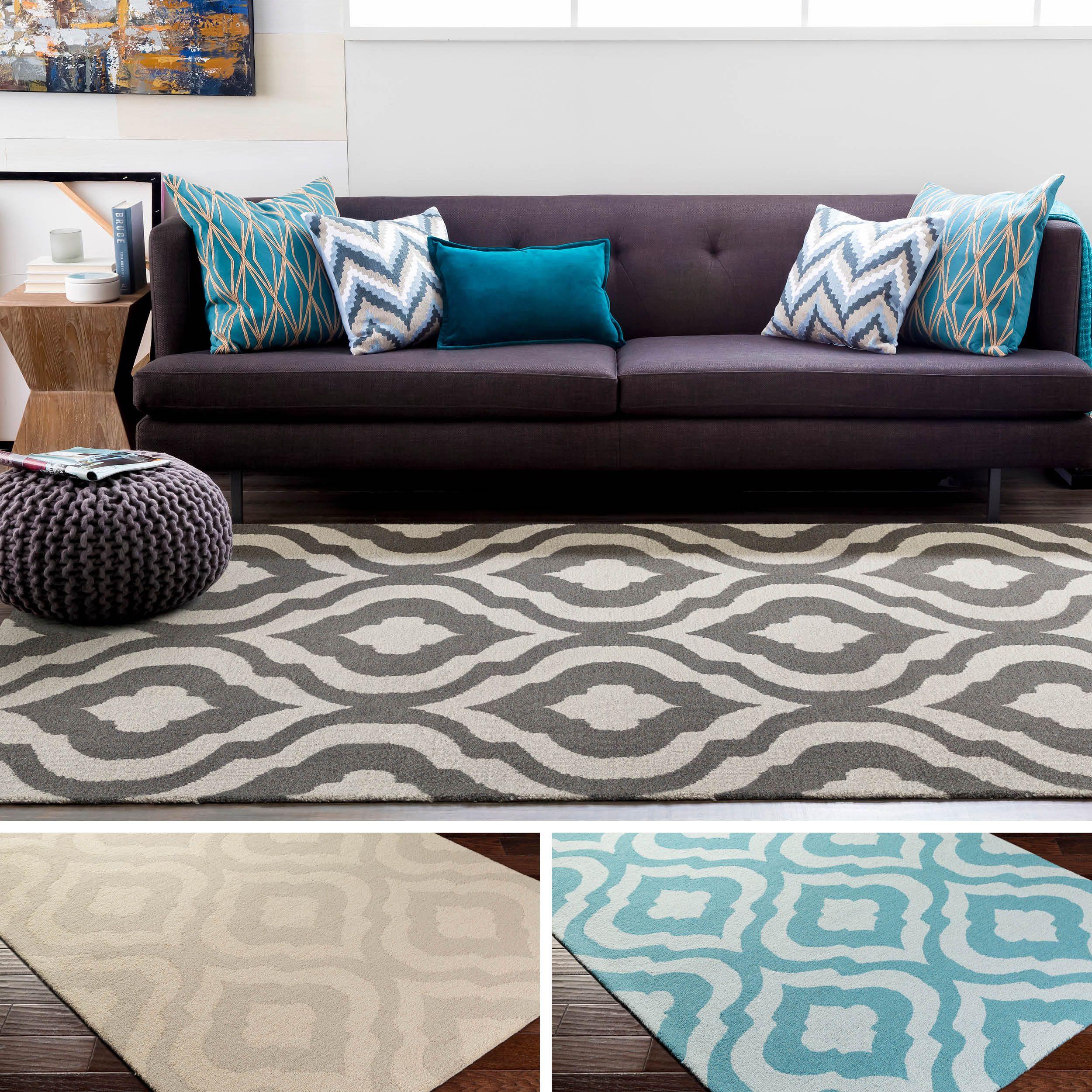 rug for living room size%0A HandTufted Annemasse Wool Rug    u     x    u