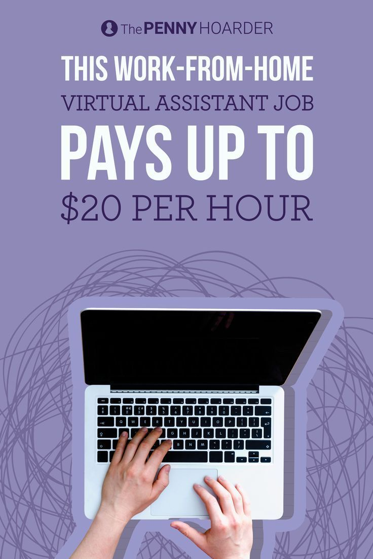 This Work From Home Virtual Assistant Job Pays Up