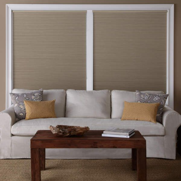 Levolor Accordia 9 16 Single Cell Blackout Shades Attractive By Design Yet Functional The Accordia Blackout Shades Custom Blinds Blackout Window Treatments