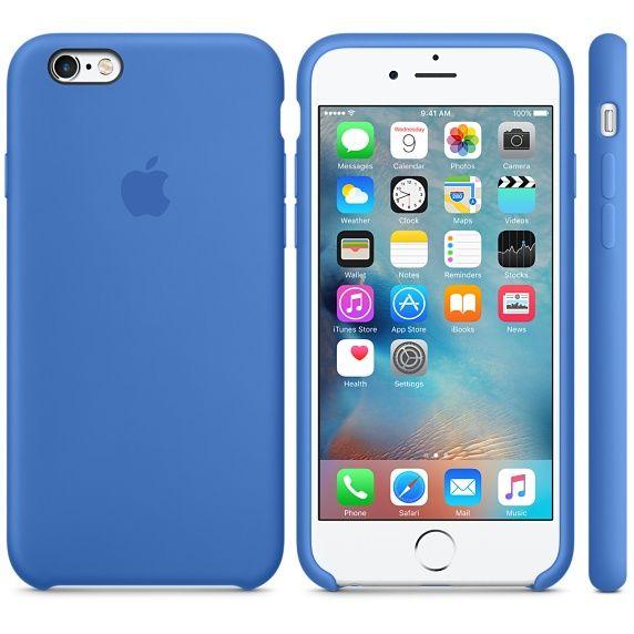 coque apple iphone 6s en silicone