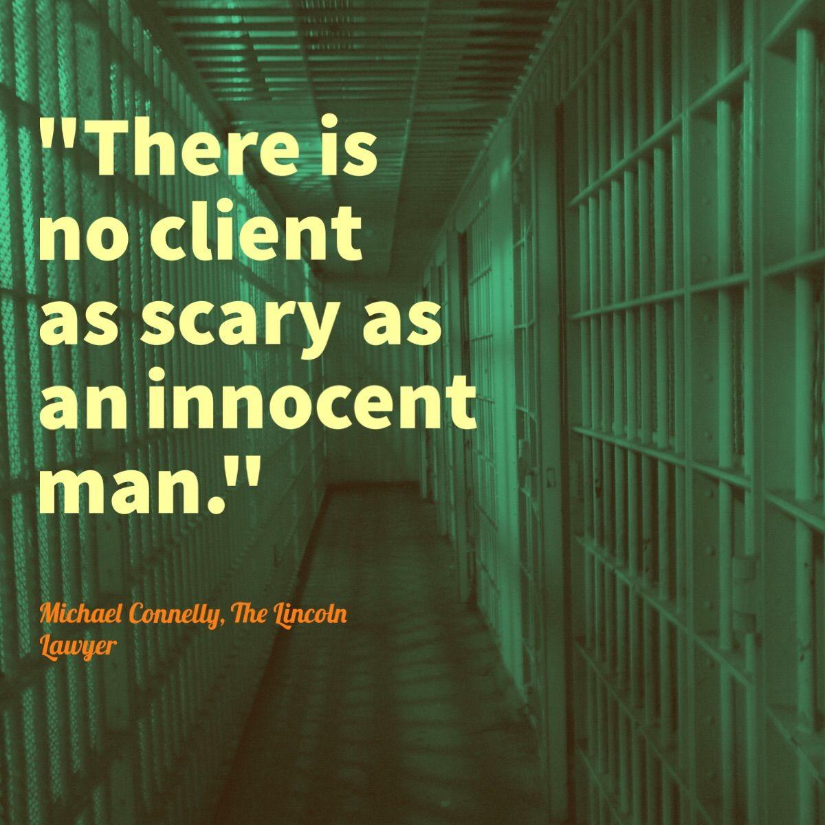 Criminal Defense Innocent Quote