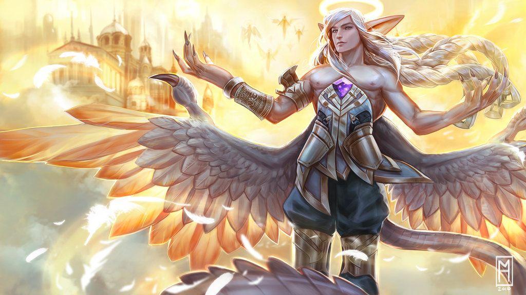 Seraphim Adagio Vainglory By Noxiihunter Vainglory Hero Wallpaper Seraphim