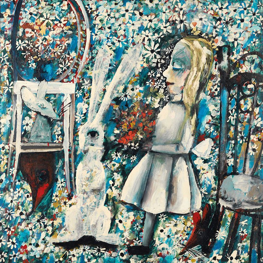 Charles Blackman Australia B 1928 The Blue Alice 1956 57