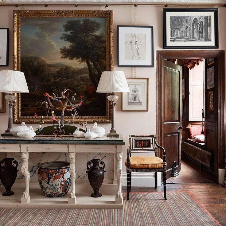habitually chic edward bulmer s english country house art rh pinterest com