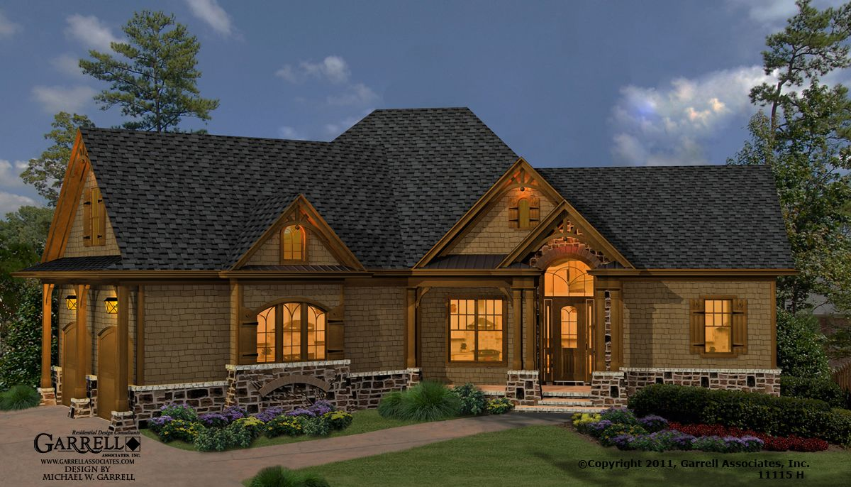 Mill Spring Cottage 11115 H House Plan