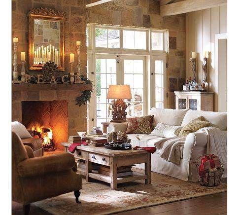 pottery barn living rooms pottery barn living room decor home rh pinterest ch