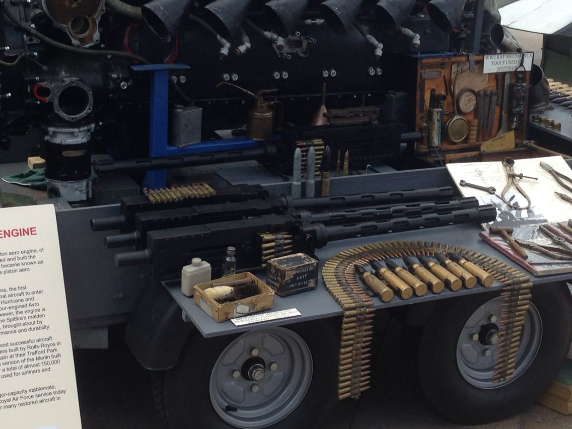 Merlin engine & bullets Military aircraft, Monster