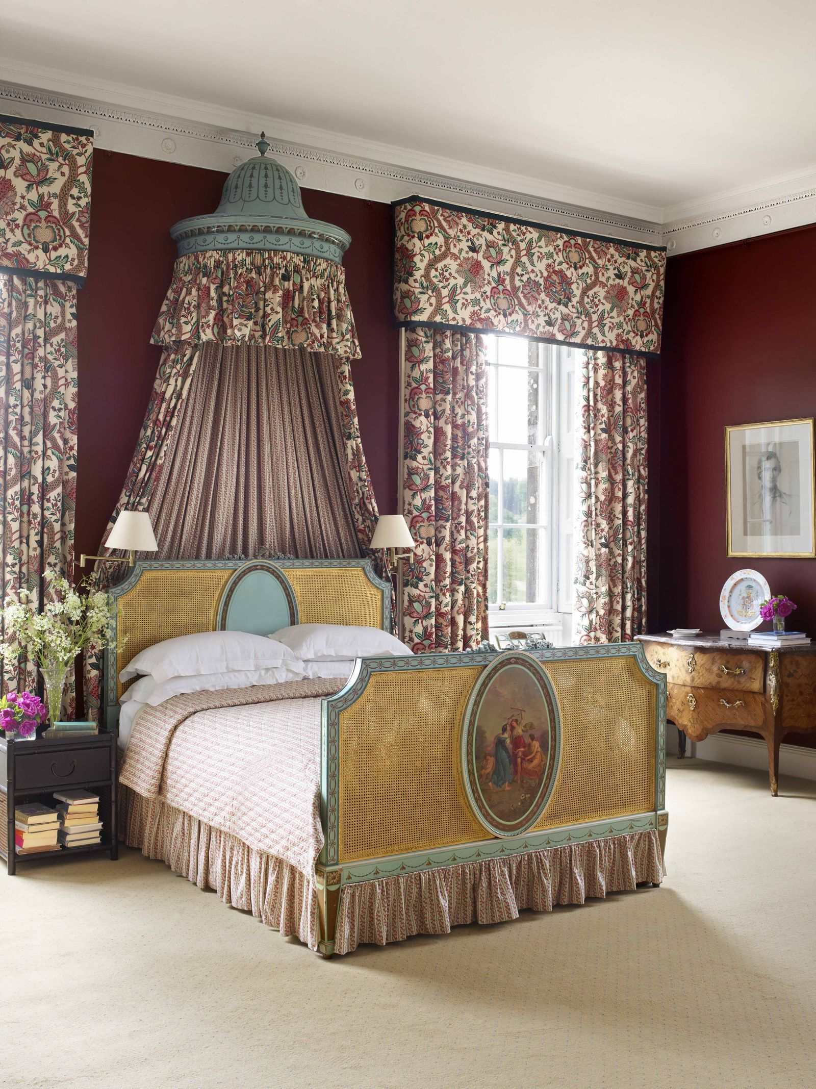 tour a legendary manor in northern ireland elledecor com bedroom rh pinterest com