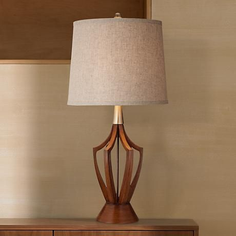 st claire 31 high mid century modern table lamp y0104 lamps rh pinterest com