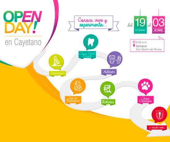¡Te esperamos en el Open Day Cayetano! Inscríbete ya: http://bit.ly/UPCHOpenDay