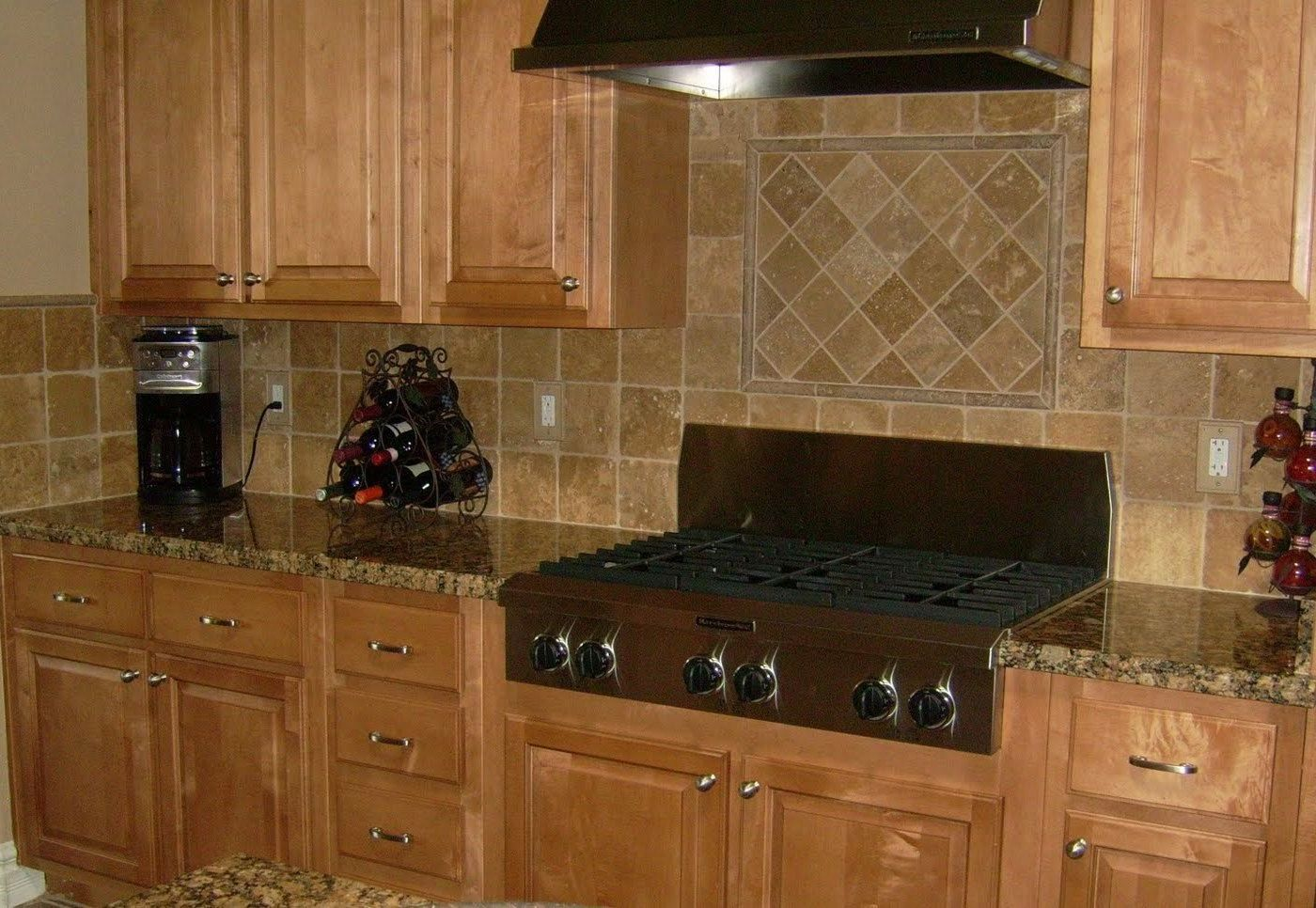 Elegant 77+ Pictures Of Kitchen Backsplash With Black Granite Countertops    Remodeling Ideas For Kitchens Check Images