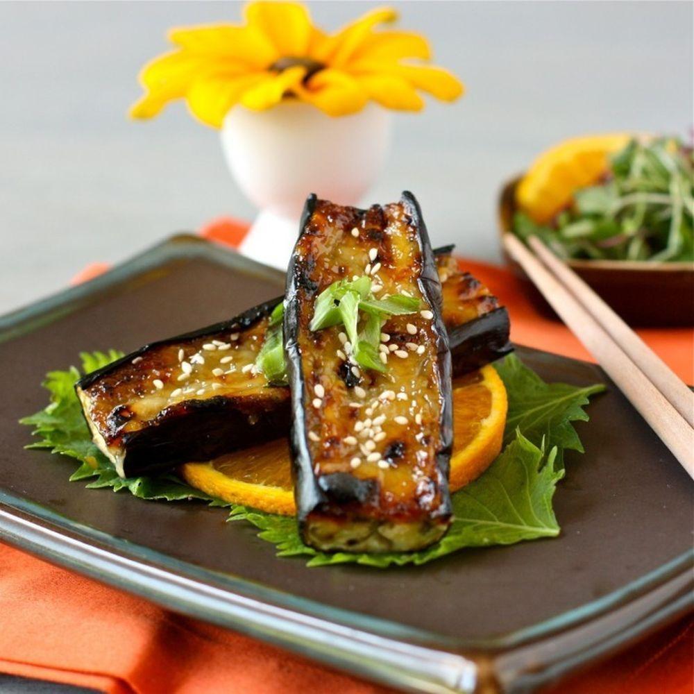 kitchen boss eggplant caponata%0A MisoGlazed Japanese Eggplant   Recipe   Japanese eggplant recipes  Eggplant  recipes and Food   recipes