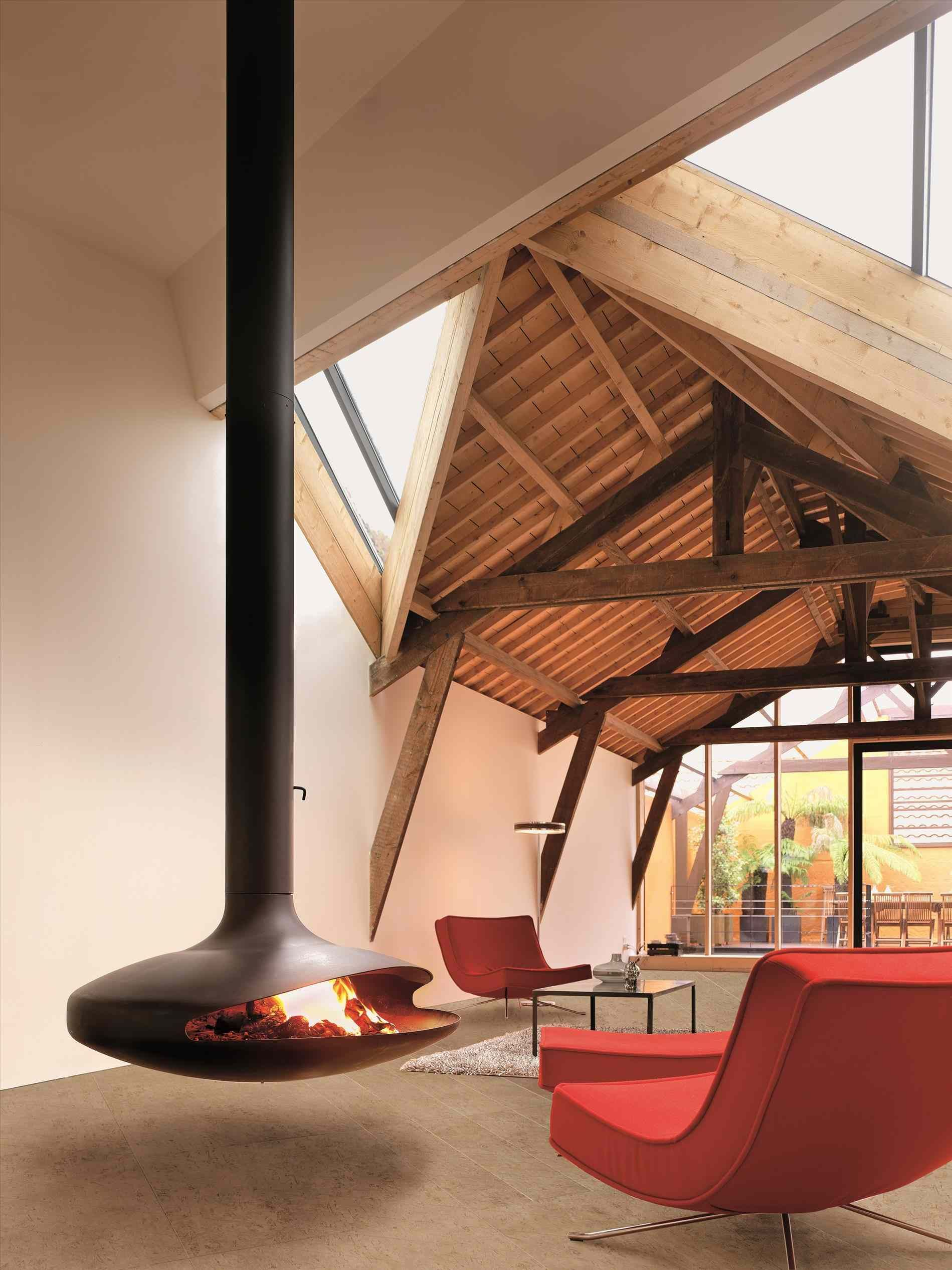 contemporary warm shelter in the cold country of norway ...