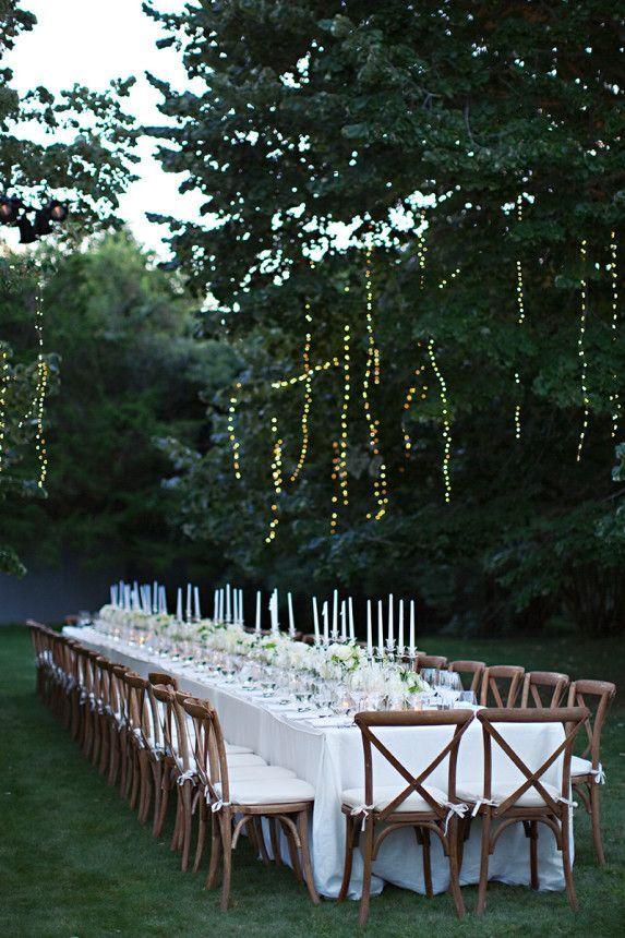 long table setup wedding reception%0A Reception    Long Table WeddingTable Setting