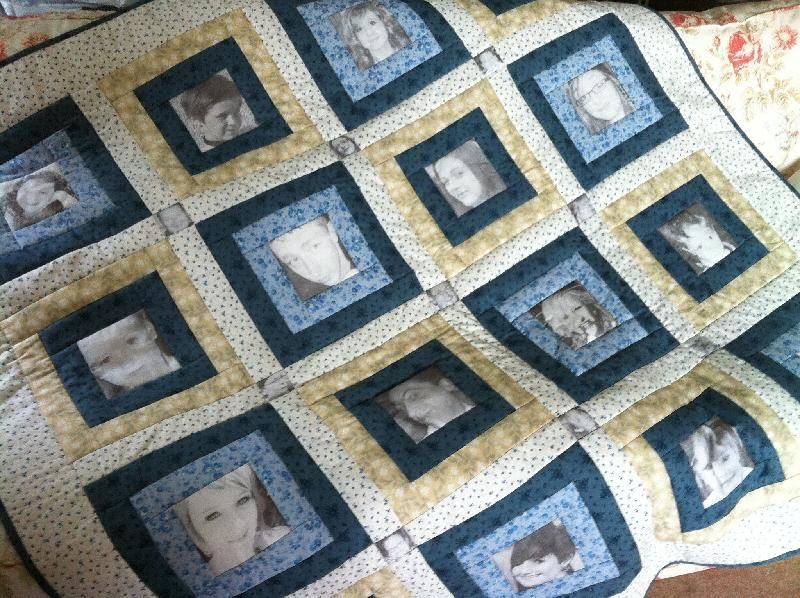 memory quilts | Quilting Ideas | Project on Craftsy: Mother's ... : memory quilt ideas - Adamdwight.com