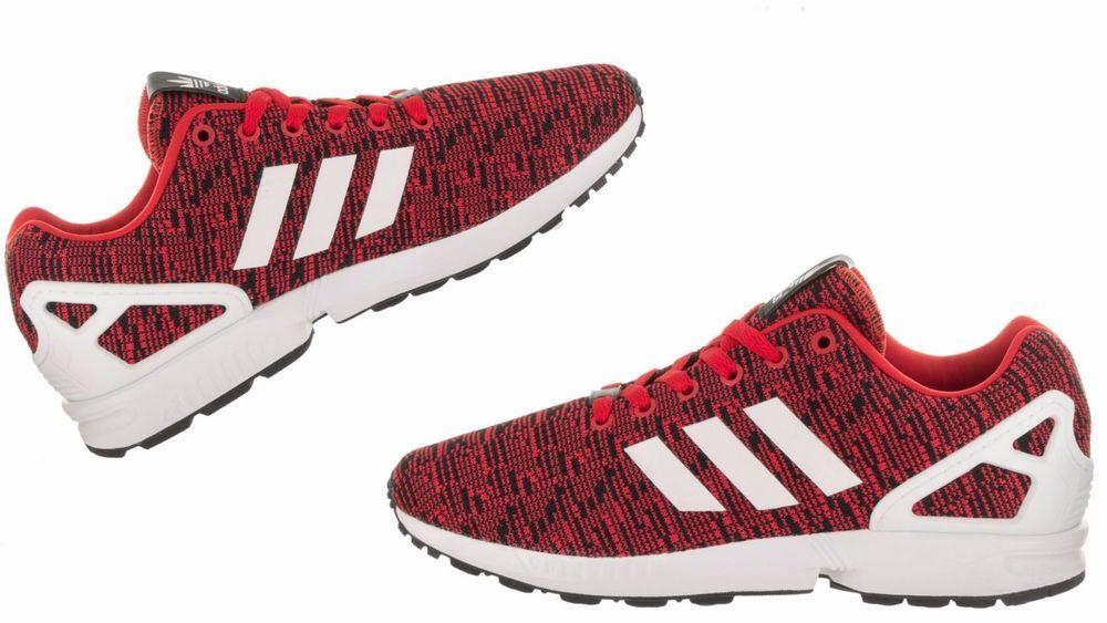 5a1e1c8db Men s Adidas Originals ZX FLUX RETRO-TECH Red White Core BB2763  adidas   BB2763