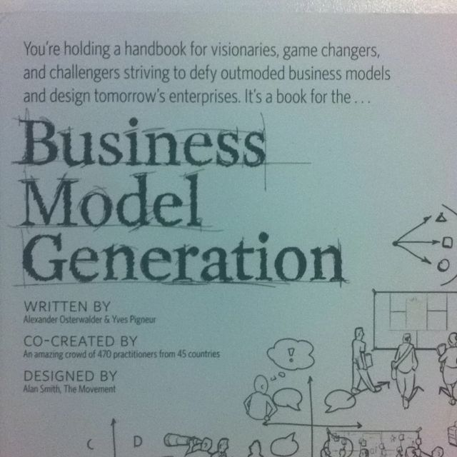This book is a practical, inspiring handbook for anyone striving to improve a business model - or craft a new one. Designed for doers.