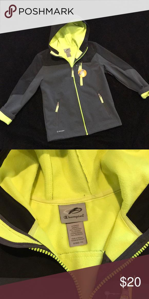 9814aaa3d2f4 Champion Water Resistant Jacket NWT Brand New w Tag! Black