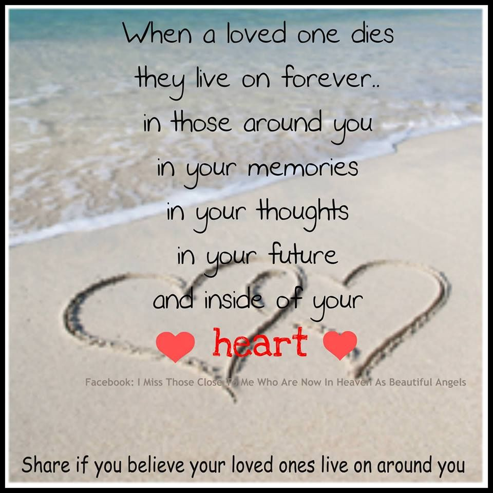 Captivating Loving Memories Quotes When A Loved One Dies For Chunk And Richard With All  My Love