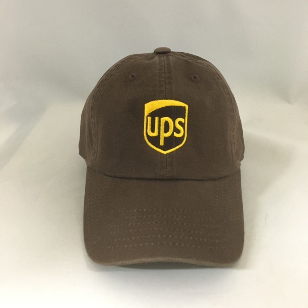 43142e74a UPS Dad Hat Cotton Adjustable United Parcel Service Ball Cap One ...