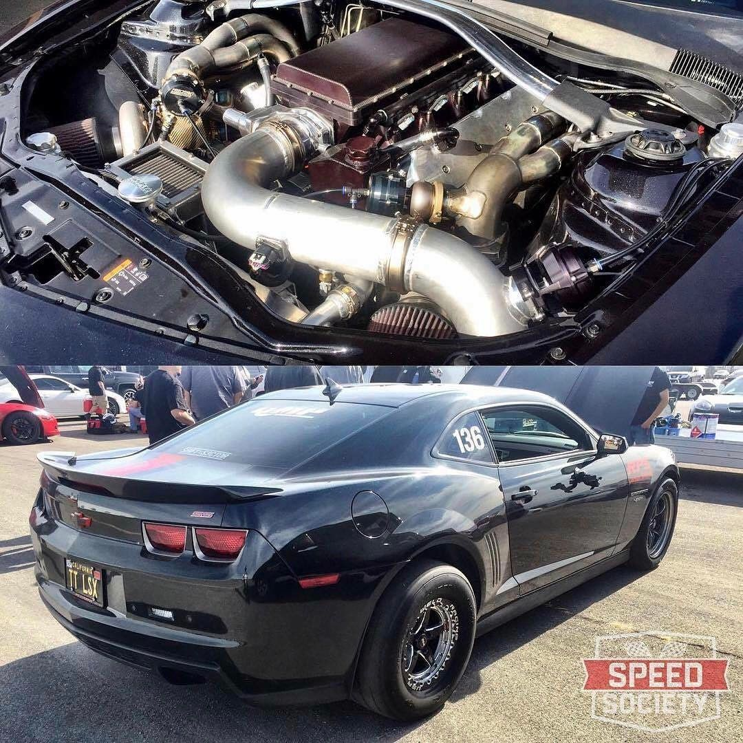 Nasty twin turbo gen camaro previously owned by