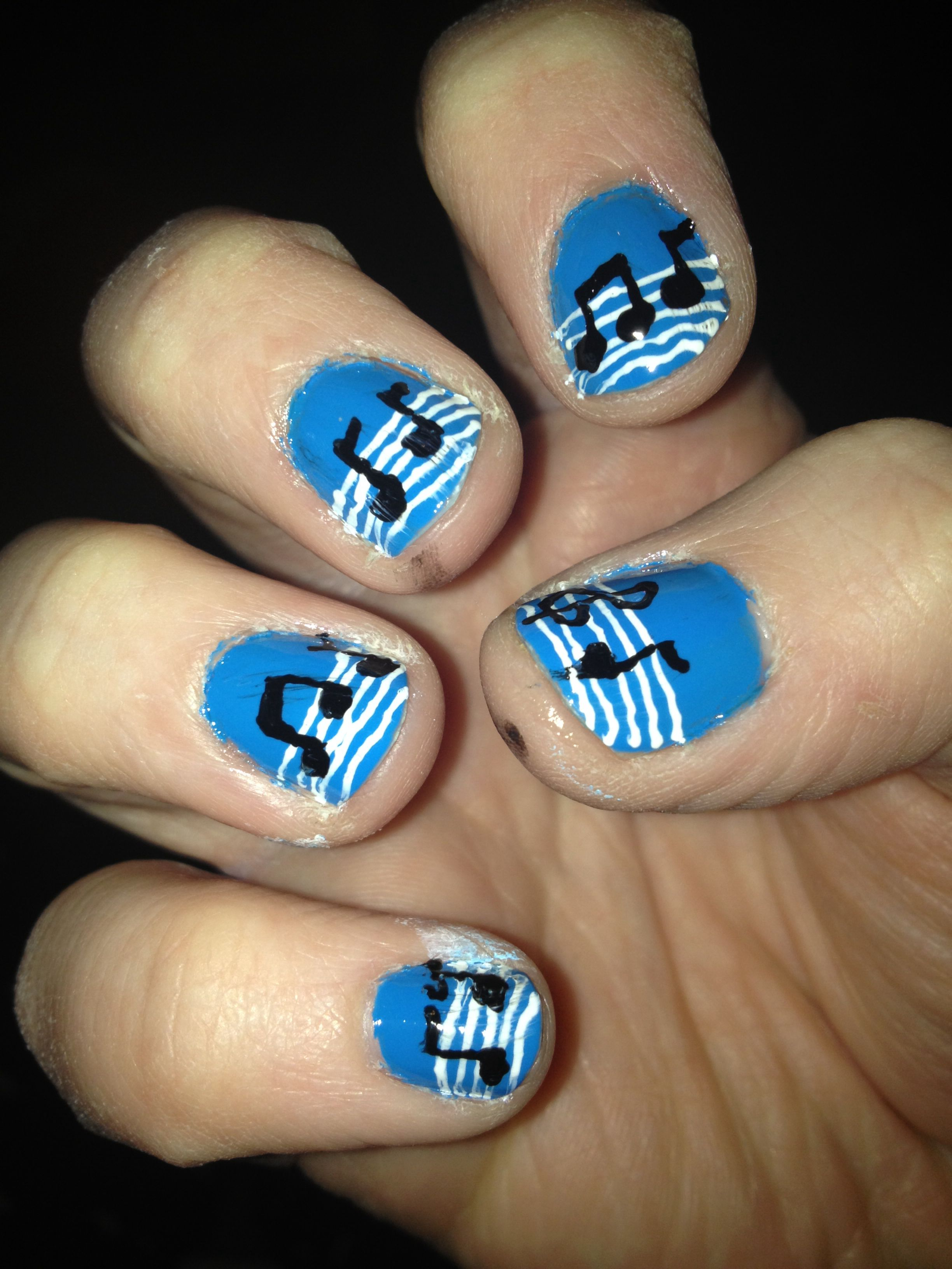 Music As Nail Design Inspiration Httpeasynaildesignscool
