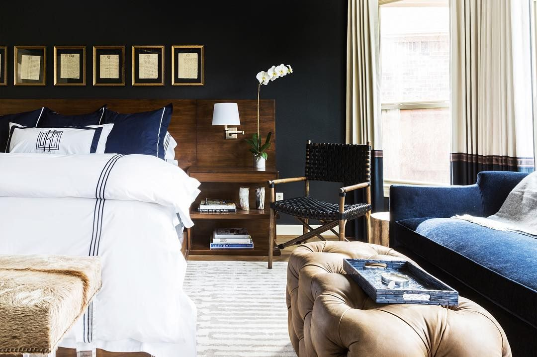 Whatu0027s your bedroom style Dark and dreamy