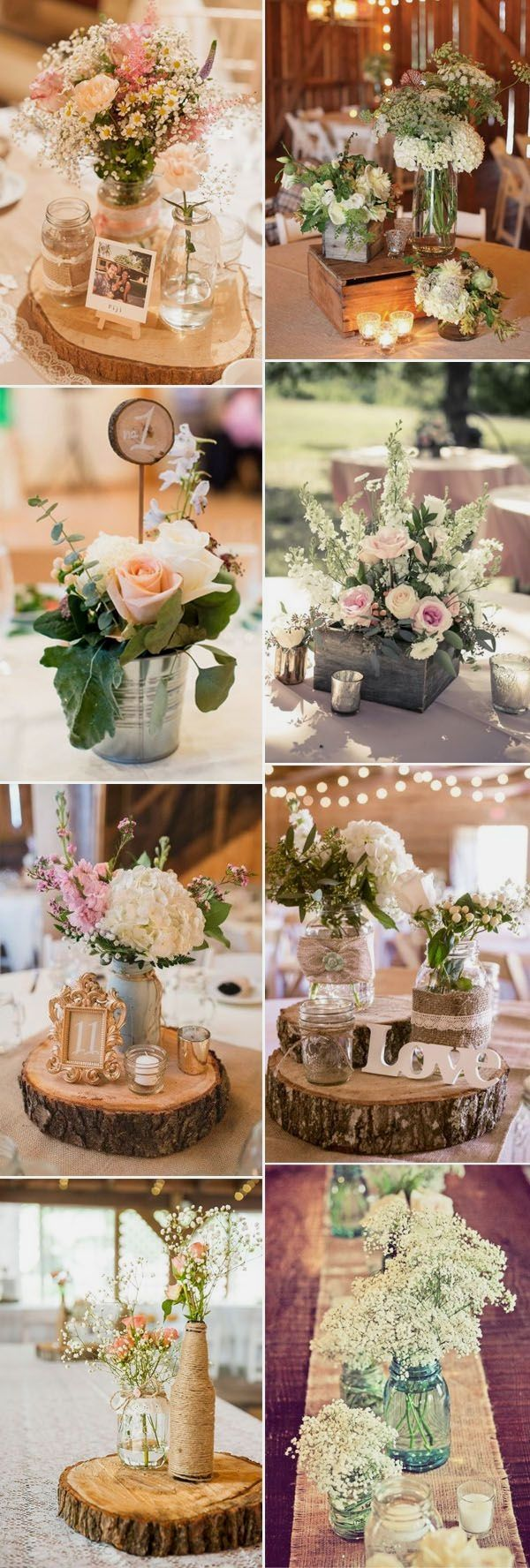 Photo of Rustic Wedding Decoration