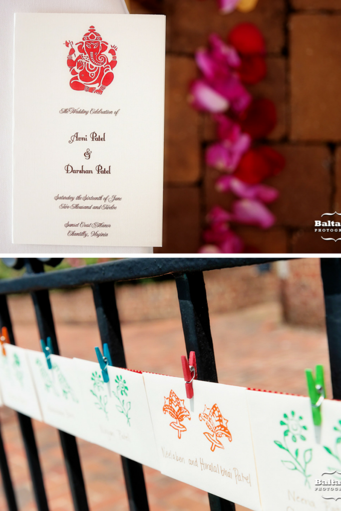 indian wedding invitation wording in gujarati%0A Red orange Indian wedding  Venue  Sunset Crest Manor  Chantilly  VA  Wedding