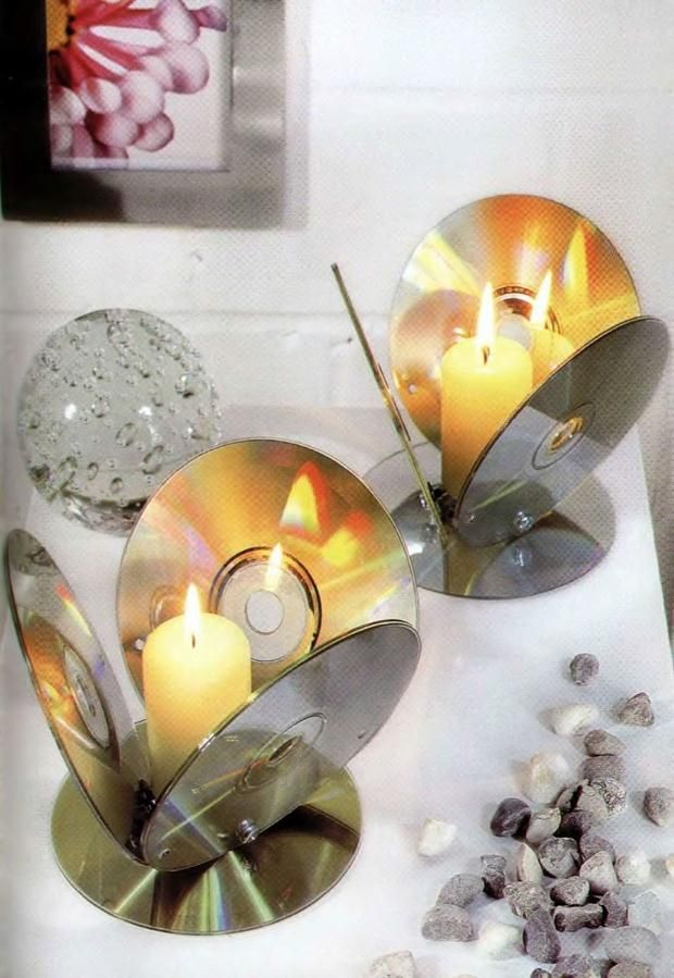 24 Brilliant Upcycled CD Crafts Ideas for Home Decoration #recycledcrafts