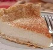 Amish Custard Pie