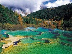Huanglong, Sichuan Province, China