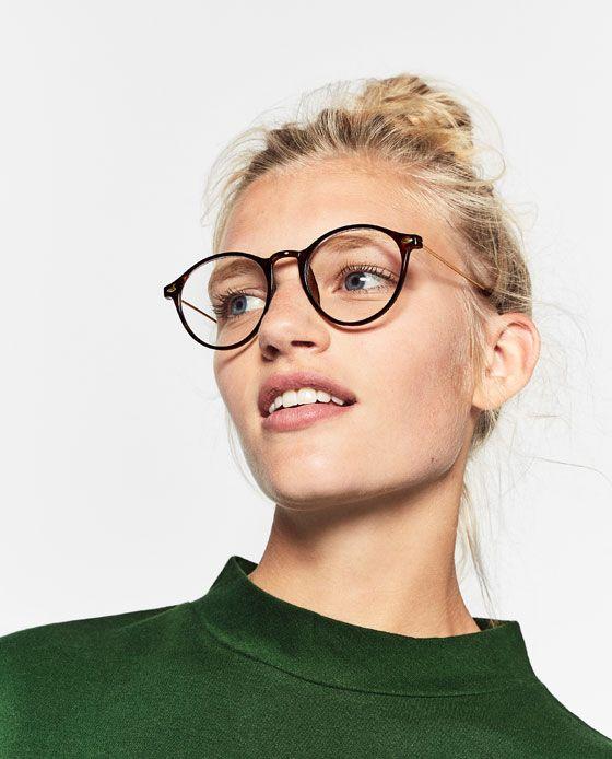 12d14e86e8 Imagen 5 de GAFAS DE VISTA REDONDAS de Zara | Glasses in 2019 ...