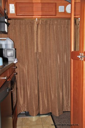 Simple Privacy Rv Curtains Modification Installed In Minutes Rv