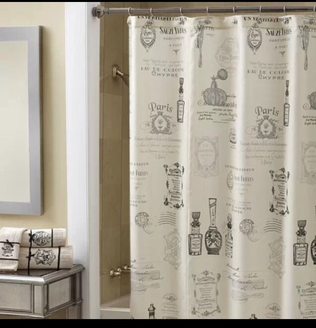 Interior Remodel on Pinterest | Shower Curtains, Paris and Painted ...