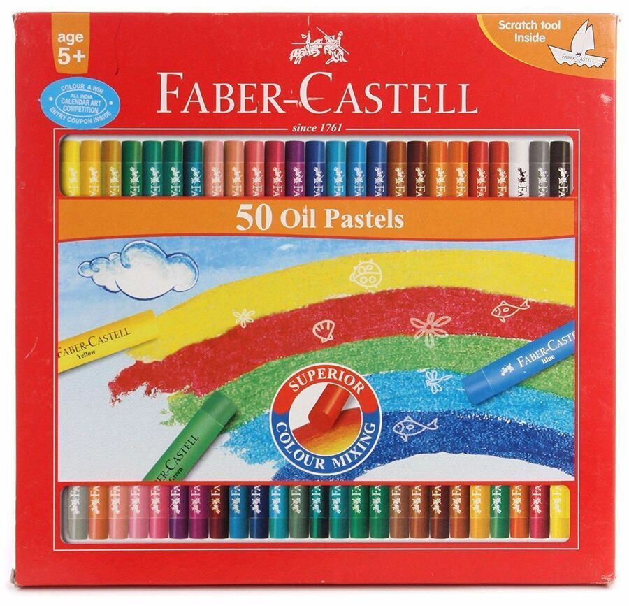 Faber Castell Oil Pastels Inter Mixable Colors 50 Shades Ad Ad