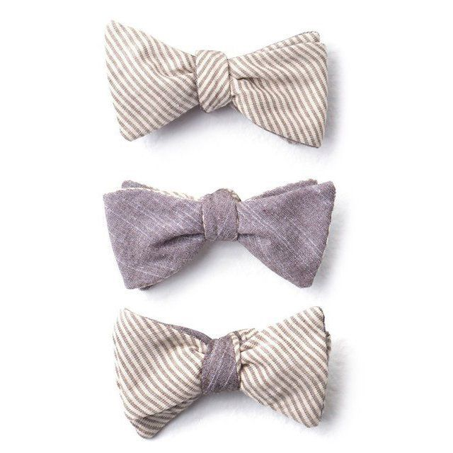 Fancy - Reversible Bow Ties by Cotton Treats