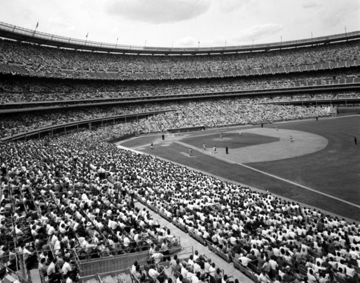 MLB AllStar Game at Shea Stadium, 1964 Photos 1964