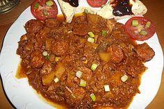 Bigos von miszka39 | Chefkoch #bigosrezeptpolnisch Bigos, ein schmackhaftes Rezept aus der Kategorie Gemüse. Bewertungen: 21. Durchschnitt: Ø 4,2. #bigosrezeptpolnisch
