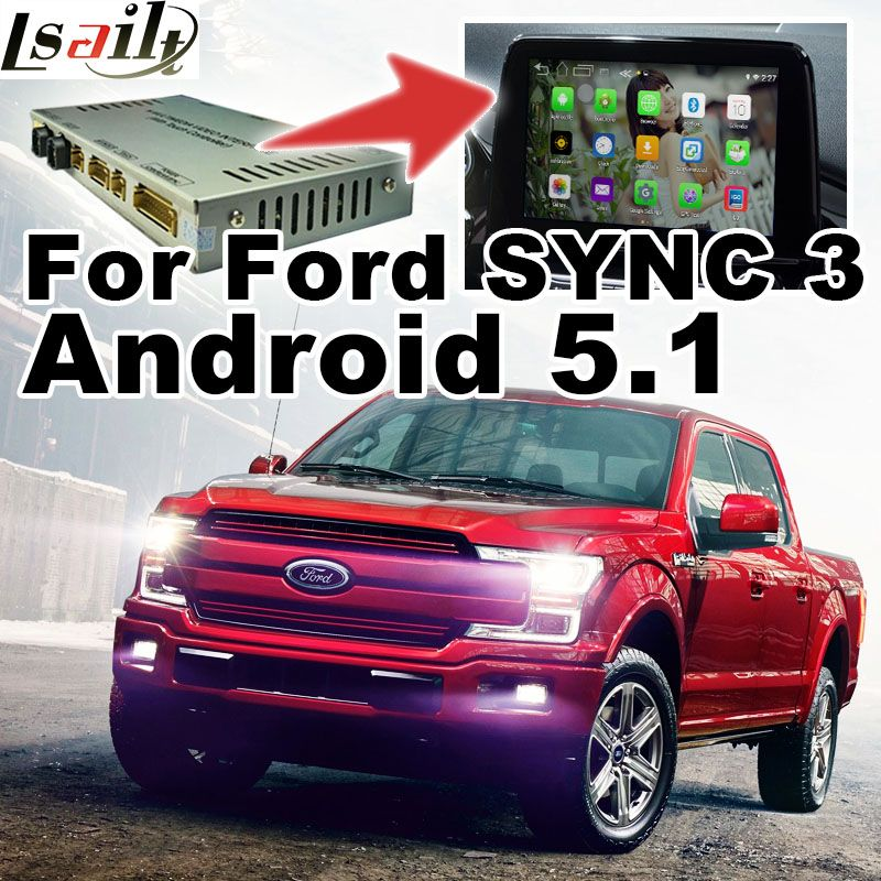 Android GPS navigation box video interface for F-150 F