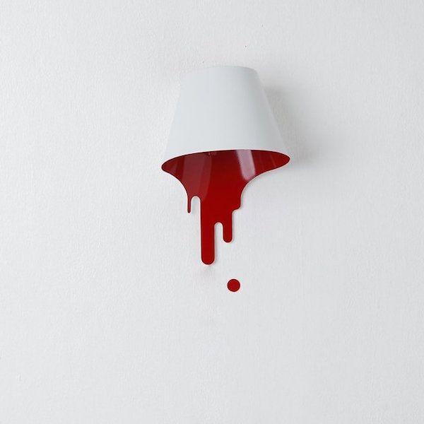 una lámpara líquida #lamps #lights #luces #lamparas #diseño #design #mola