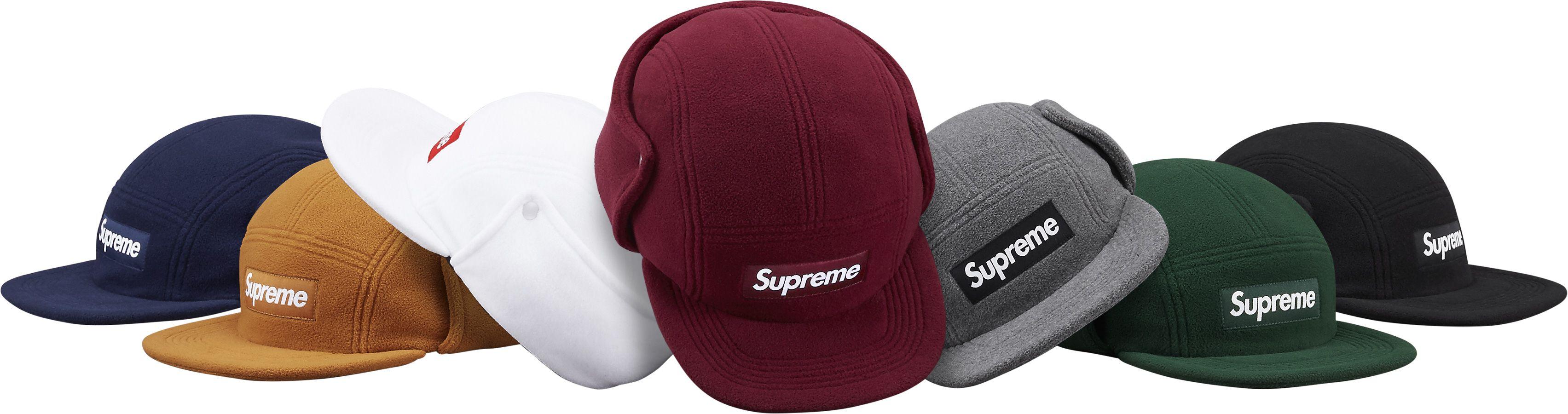 d8f1ce63344 Supreme 16AW Polartec® Fleece Earflap Camp Cap