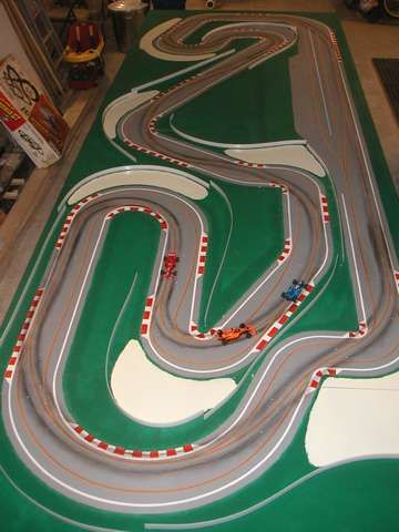 Barcelona, BLST system SlotForum Slot car race track