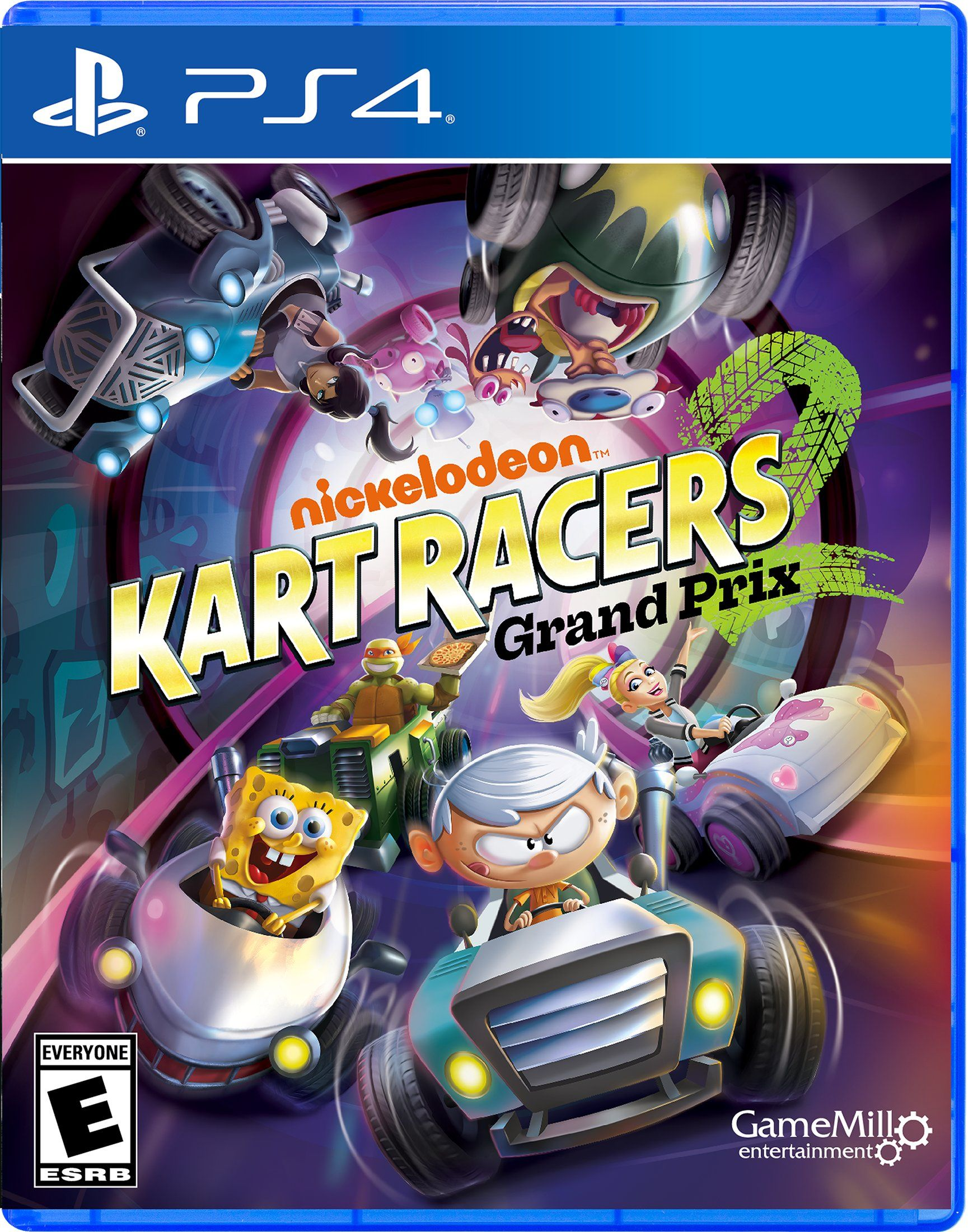 Nickelodeon Kart Racers 2 Grand Prix Ps4 In 2021 Nickelodeon Grand Prix Nintendo Switch