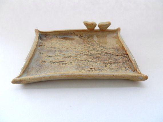 Ceramic Soap Dish clay soap dish pottery soap by potteryhearts ...