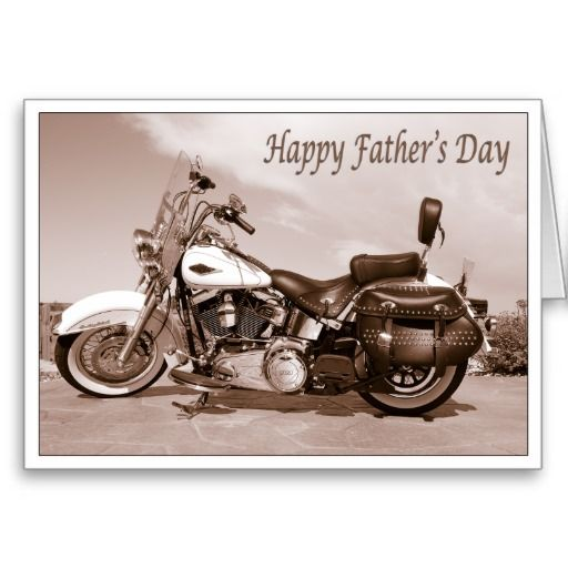 Happy Father S Day Card Zazzle Com With Images Harley