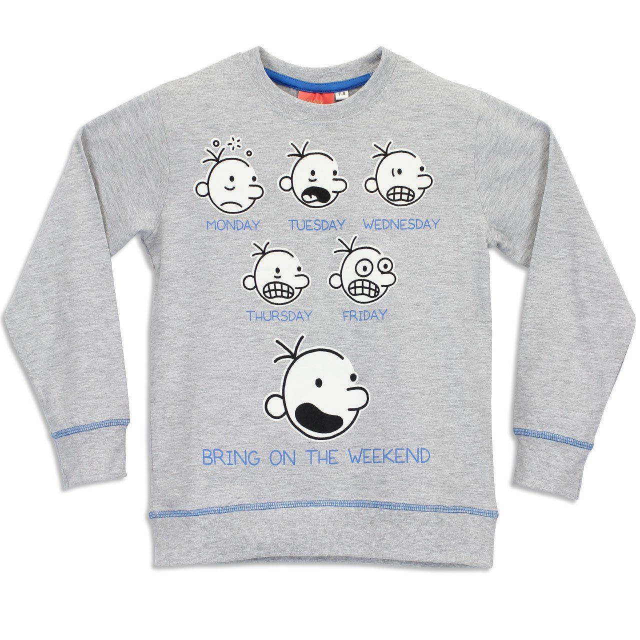 Character Boys' Diary Of A Wimpy Kid Pajamas Greg Heffley ...