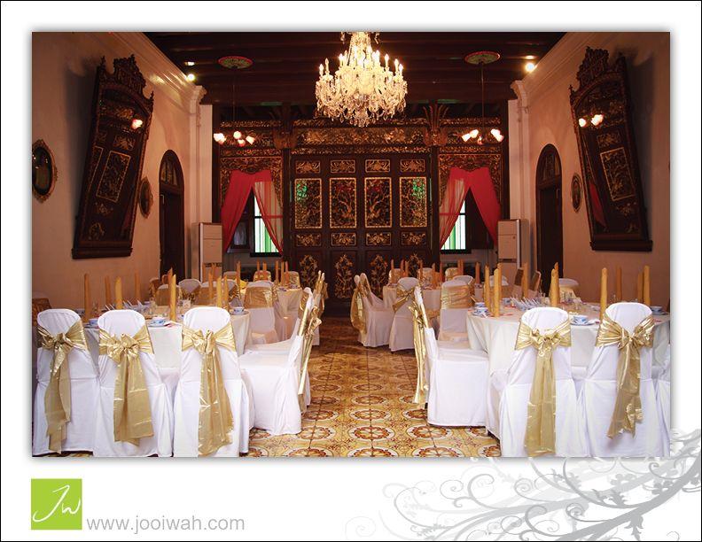 Wedding Reception At Pinang Pernakan Mansion